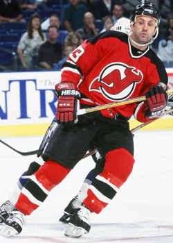 Doug Gilmour supplied all the offense the Devils' needed to advance to the 3rd Round.   via devils.nhl.com