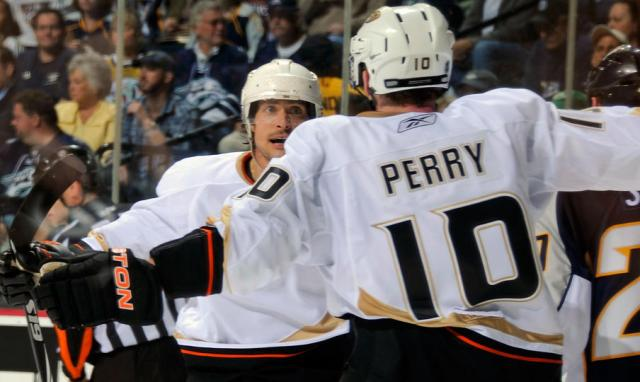 Corey Perry ended the series with the Preds shortly into overtime of Game 7.   via ducks.nhl.com