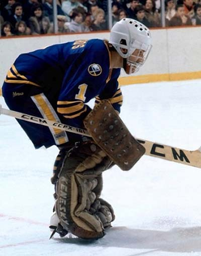 Goaltender Don Edwards has been steady in net for the Sabres through three rounds.    via goaliesarchive.com