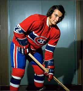 The '76-'77 Canadiens, who hold the record for most points in a season (132) advance to the 3rd Round, largely thanks to winger Steve Shutt.   via hhof.com