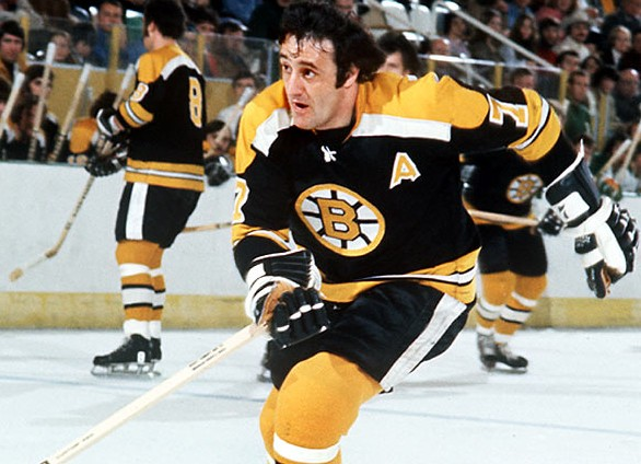 Phil Esposito potted both the game-tying goal that sent Game 2 into overtime and the game-winning goal in the 2nd overtime to tie the series up 1-1.   via totalprosports.com