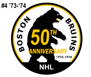 The 4th-seed in the inaugural Ultimate NHL Playoff, the '73-'74 Boston Bruins.