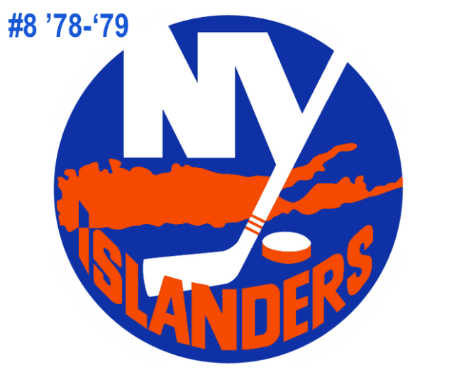The #8 seed of the inaugural Ultimate NHL Playoff, the '78-'79 New York Islanders.