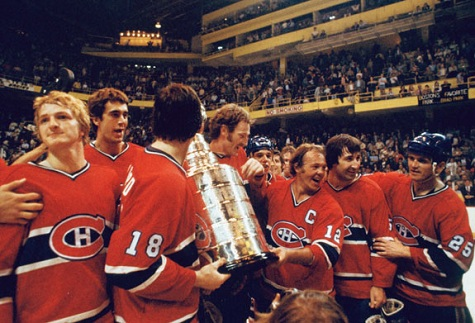 The '76-'77 Montreal Canadiens are the inaugural Ultimate NHL Champions, beating the '88-'89 Calgary Flames in five games.   via hookedonhockeymagazine.com