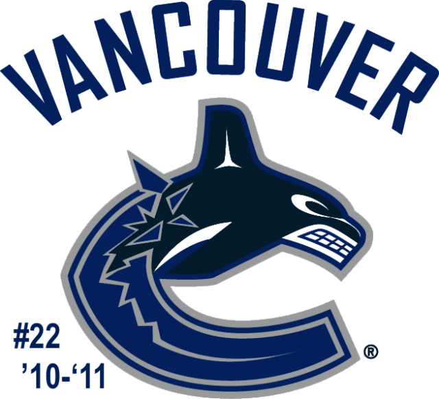 The #22 seed in the inaugural Ultimate NHL Playoff, the '10-'11 Vancouver Canucks.