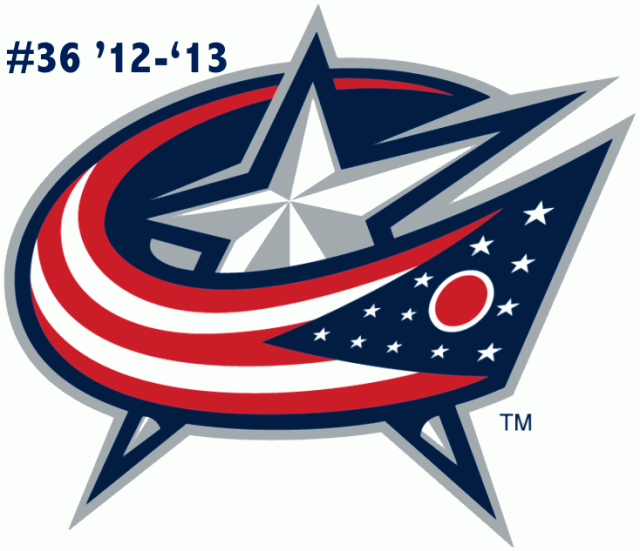 The #36 seed in the inaugural Ultimate NHL Playoff, the '12-'13 Columbus Blue Jackets.