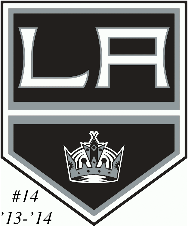 The #14 seed in the inaugural Ultimate NHL Playoff, the '13-'14 Los Angeles Kings.