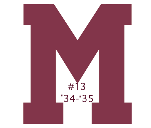 The #13 seed in the inaugural Ultimate NHL Playoff, the '34-'35 Montreal Maroons.