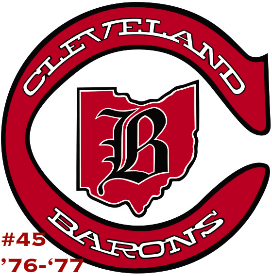 The #45 seed in the inaugural Ultimate NHL Playoff, the '76-'77 Cleveland Barons.