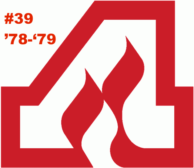 The #39 seed in the inaugural Ultimate NHL Playoff, the '78-'79 Atlanta Flames.