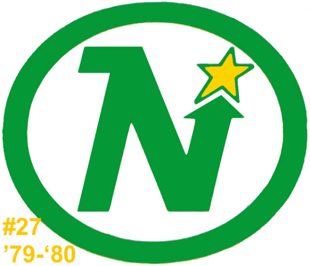 The #27 seed in the inaugural Ultimate NHL Playoff, the '79-'80 Minnesota North Stars.