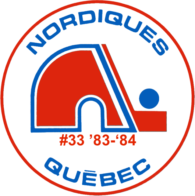 The #33 seed in the inaugural Ultimate NHL Playoff, the '83-'84 Quebec Nordiques.