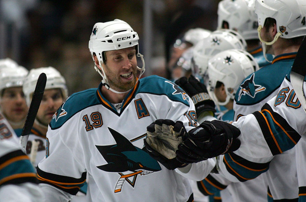joe thornton '07-'08 sharks