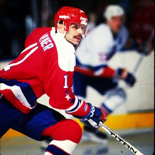 mike gartner '83-'84 capitals