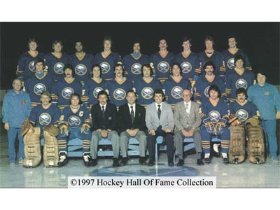 The '79-'80 Buffalo Sabres......all that flow doe. (via legendsofhockey.net)