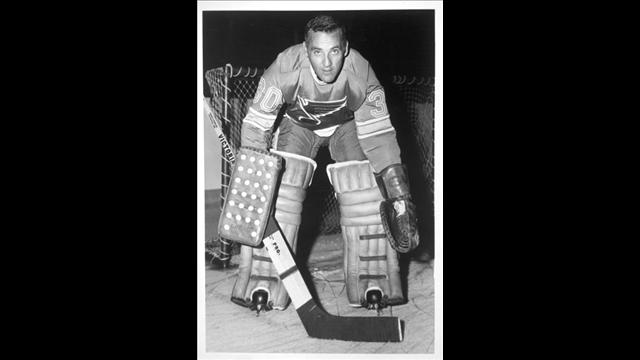 ______________, the legendary goaltender, allowed just three goals in the final three games of the series to lead the '69-'70 Blues in their comeback. (via archive.ksdk.com)
