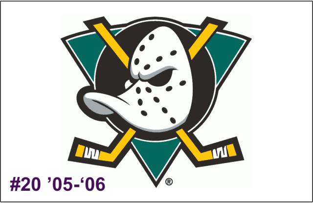 The 20th-seeded '05-'06 Mighty Ducks of Anaheim