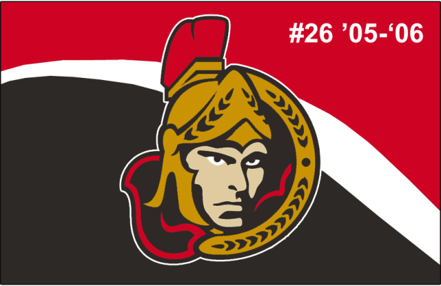 The 26th-seeded '05-'06 Ottawa Senators