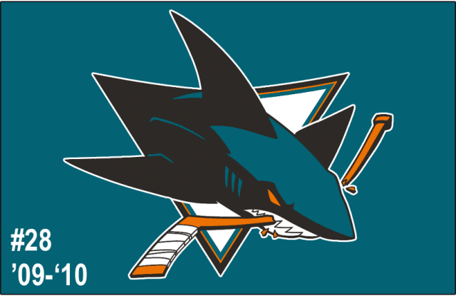 The 28th-seeded '09-'10 San Jose Sharks