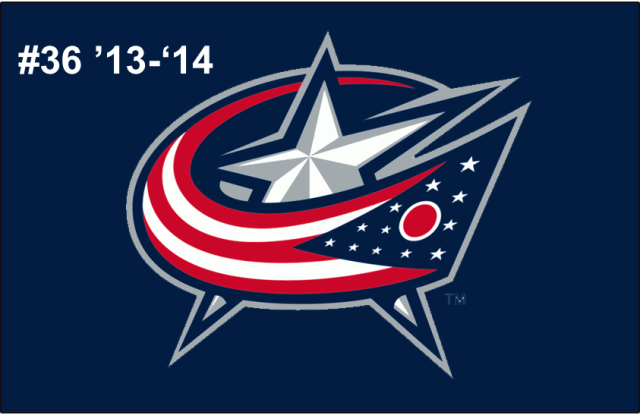 The 36th-seeded '13-'14 Columbus Blue Jackets