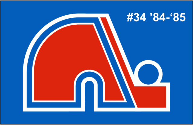 The 34th-seeded '84-'85 Quebec Nordiques