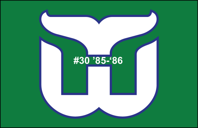 The 30th-seeded '85-'86 Hartford Whalers