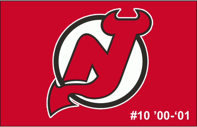 The 10th-seeded '00-'01 New Jersey Devils