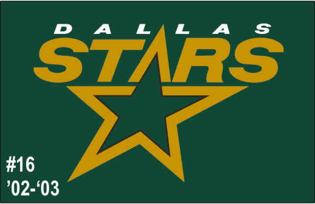 The 16th-seeded '02-'03 Dallas Stars