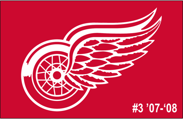 The 3rd-seeded '07-'08 Detroit Red Wings