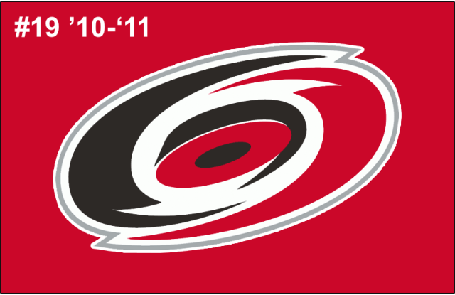 The 19th-seeded '10-'11 Carolina Hurricanes
