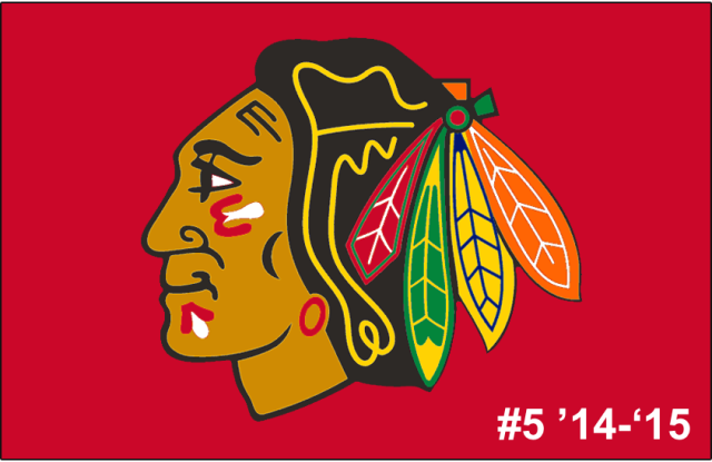 The 5th-seeded '14-'15 Chicago Blackhawks