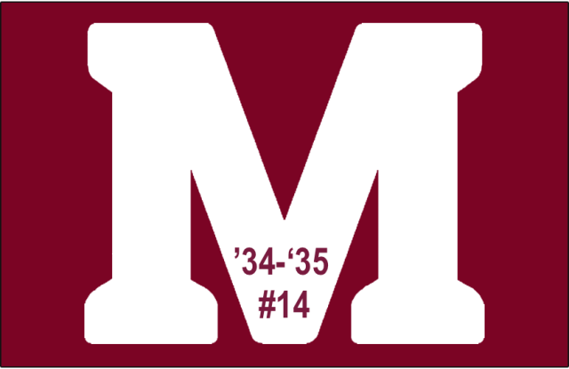 The 14th-seeded '34-'35 Montreal Maroons
