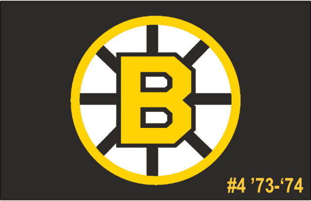 The 4th-seeded '73-'74 Boston Bruins
