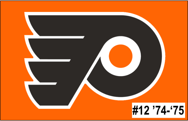 The 12th-seeded '74-'75 Philadelphia Flyers