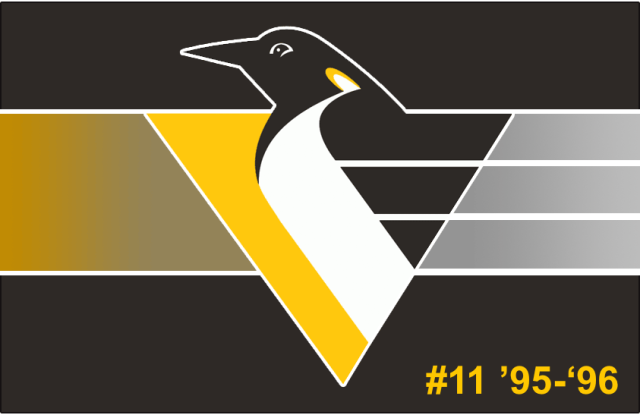 The 11th-seeded '95-'96 Pittsburgh Penguins