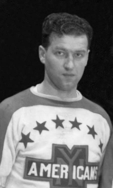 Defenseman ___ Jerwa's contribution offensively from the blue line helped the '37-'38 Americans complete the three-peat. (via greatesthockeylegends.com)