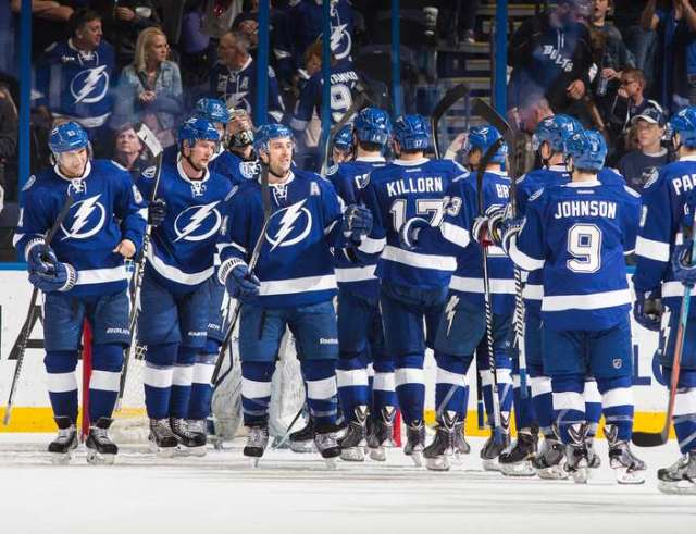 The '14-'15 Tampa Bay Lightning had a tough time getting to the Final, but breezed through an easy five-game series win once they got there. (via lightning.nhl.com)