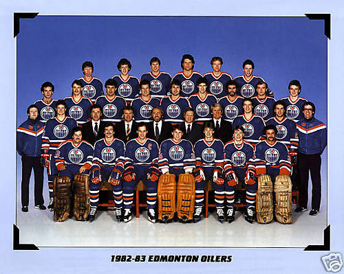 The '82-'83 Edmonton Oilers are now the third different team that will represent the franchise in the Ultimate NHL Playoff. (via oilersnation.com)