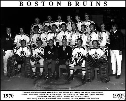 The '70-'71 Boston Bruins did not drop a single game in this qualifying tournament and will be making their Ultimate NHL Playoff debut. (via icehockey.wikia.net)