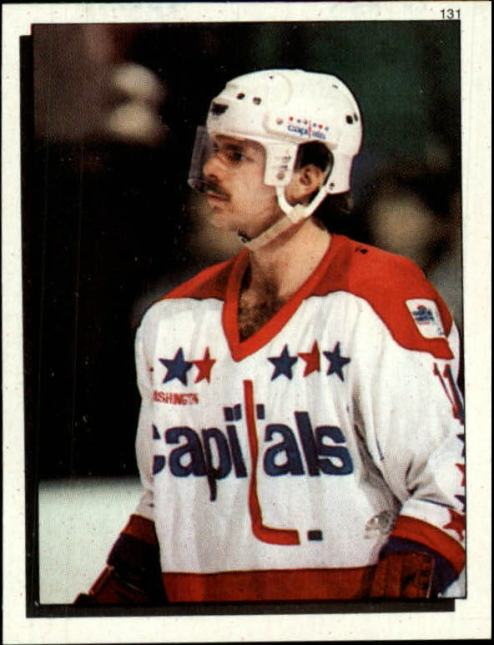 Power of the stache, Gartner led the '84-'85 Capitals in scoring in the sweep. (via stickerpoints.com)