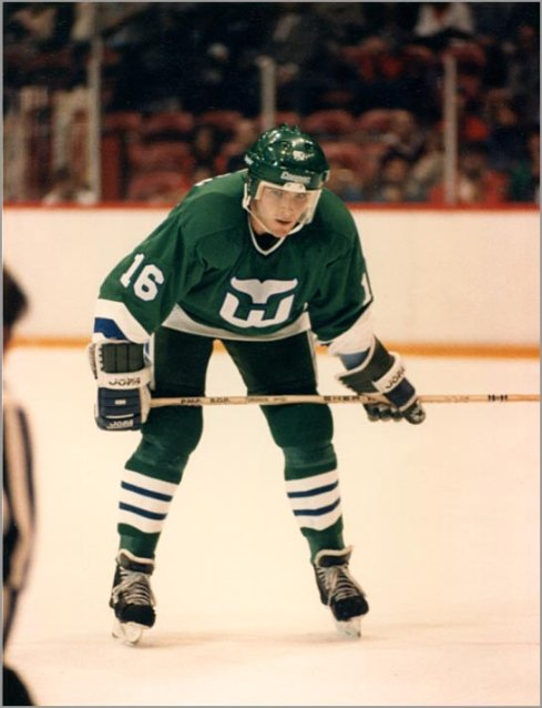 It was _______ Turgeon's OT winner in Game 5 that sealed the series for the '85-'86 Whalers in a high-flying matchup. (via puckjunk.com)