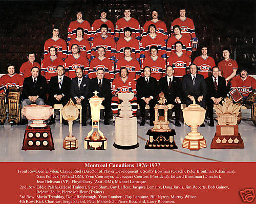 The '76-'77 Canadiens are back and looking to keep the UNP Championship in Montreal's hands. (via icehockey.wikia.com)